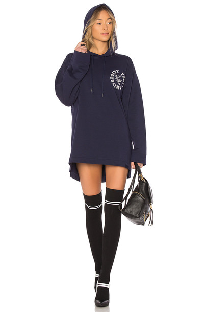 Fenty by Puma hoodie back navy sweater