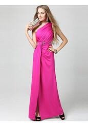 long evening dress,blush evening dresses
