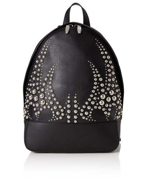 studded backpack studded backpack leather black black leather