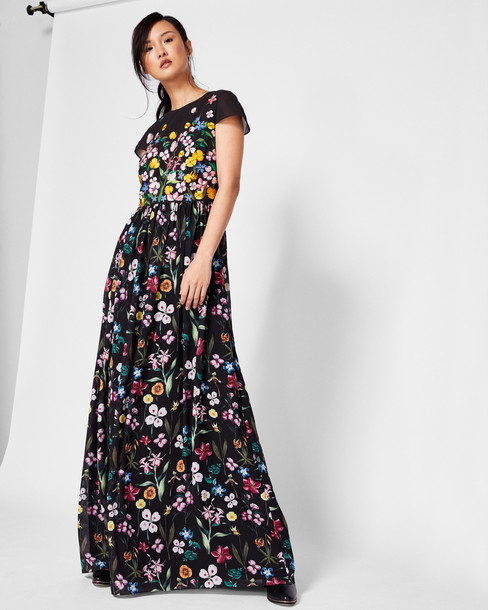 Ted Baker dress maxi dress maxi black