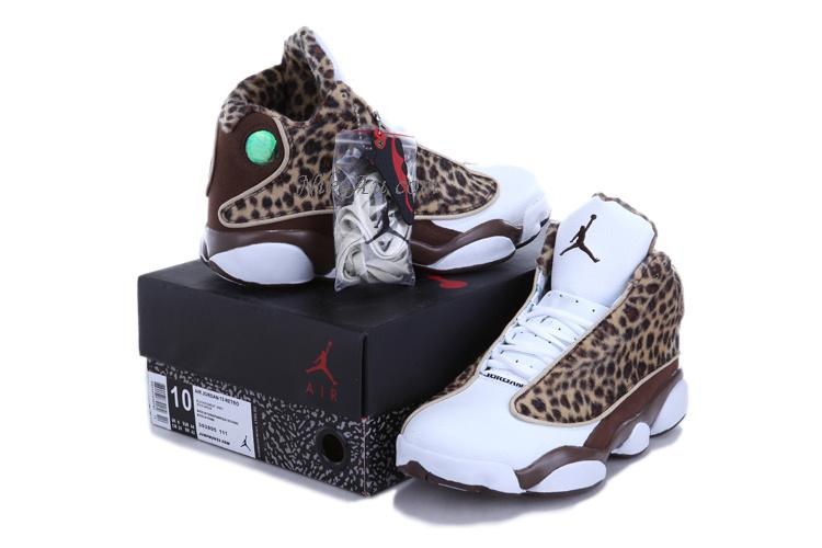 Best Wholesale Cheetah Print Jordan 13 Leopard Print White Coffe For Sale In Australia - $63.00 : Nike Au, Official Nike Store Australia, Cheap Nike Shoes Sale
