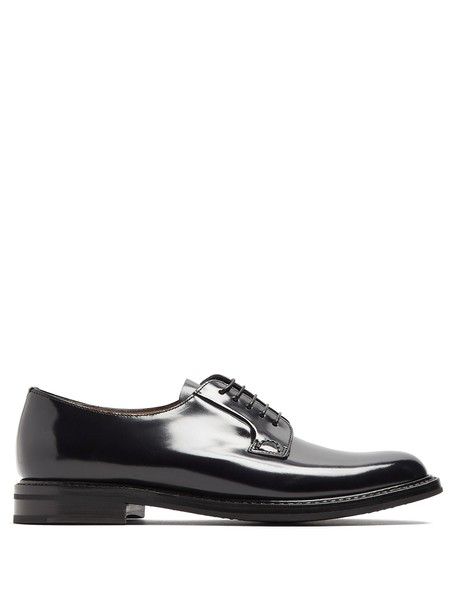 Church's shoes lace leather black