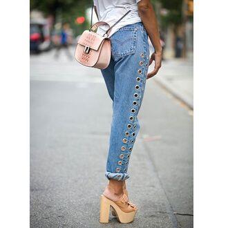 jeans nastygal denim boyriend mom jeans rebel vintage silver