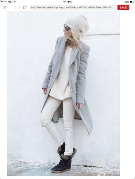 coat jacket grey coat wool coat