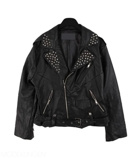 Leather jacket - Glam - Leather jackets - Jackets - Women - Modekungen | Clothing, Shoes and Accessories