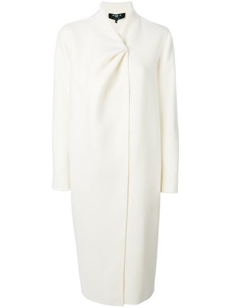 PAULE KA coat women white wool