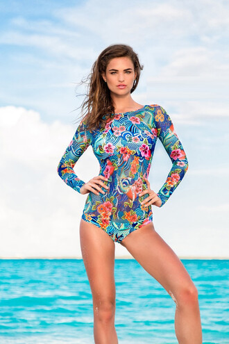 swimwear luli fama one piece swimsuit print bodysuit bikiniluxe