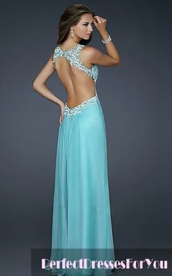 dress prom blue mint sparkle prom dress long prom dress long prom dress pretty cute backless