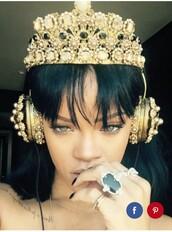 jewels,crown,jewelry,gold,headband,head jewels,headpiece,instagram famous,cute