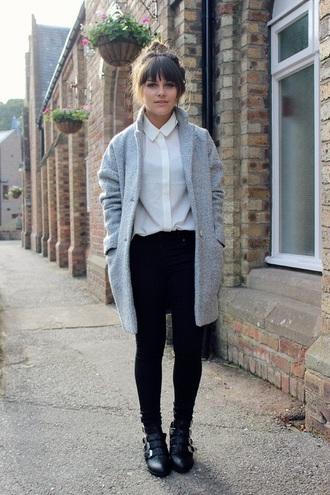 coat cardigan wool cardigan wool warm winter coat gray winter coat for women