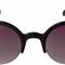 Vintage style round cat eye purple lens black sunglasses [ks1351-bk] - $9.99 : hippie sunglasses, vintage 60s and 70s sunglasses