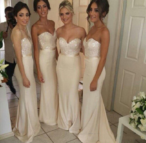 bridesmaid wedding dress prom dress
