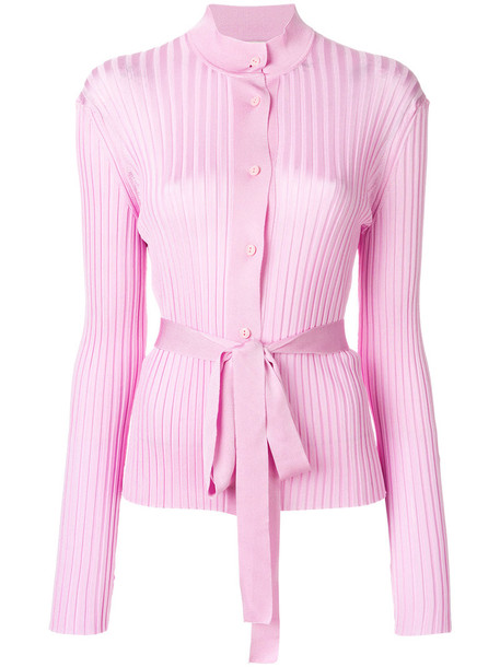 Emilio Pucci cardigan cardigan women purple knit pink sweater