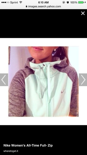 sweater nike zip-up hoodie
