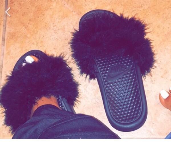 12cc0a5fe shoes black nike nike shoes nikes black shoes sandals slide shoes.