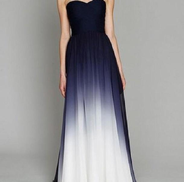 dress prom dress blue dress navy 2014 prom dresses