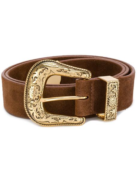 belt gold brown