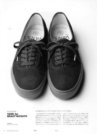 shoes love vans black