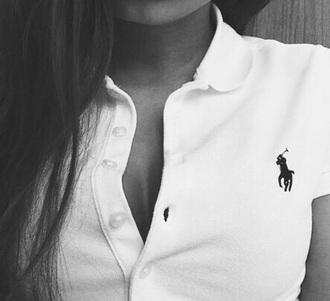 shirt polo shirt ralph lauren ralph lauren polo white ralph lauren femme