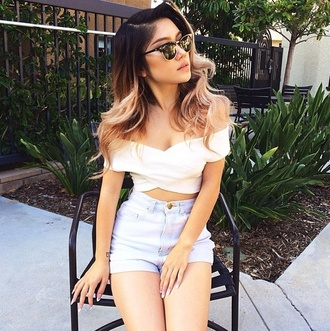 wrap top white crop tops off the shoulder summer beautiful top
