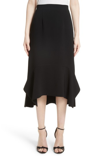 Altuzarra Drape Hem Midi Skirt | Nordstrom