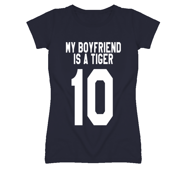 My Boyfriend Is A Tiger 10 New York Graphic T Shirt