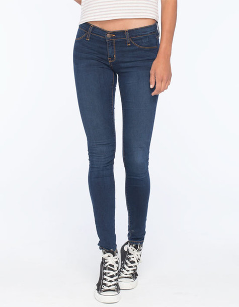 12a9e7a342e jeans jeggings jeggings for women dark wash denim flying monkey blue dark  blue dark blue jeans
