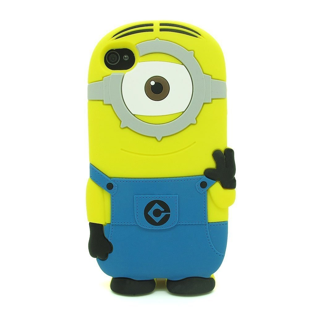 BoxyTech.com 3D One Eye Minion Despicable Me Case for iPhone 4 4s