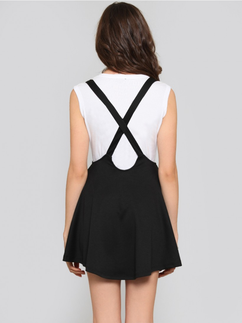 Amber Suspender Skirt