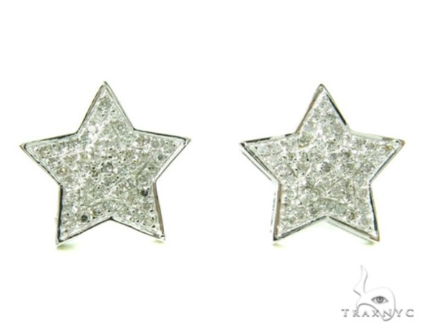 jewels earrings stars diamonds
