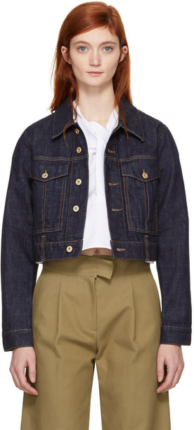 Carven jacket denim