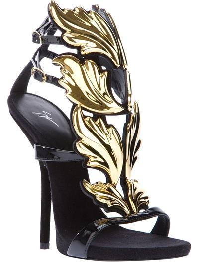 Giuseppe Zanotti Design Stiletto Sandal - Eraldo - Farfetch.com