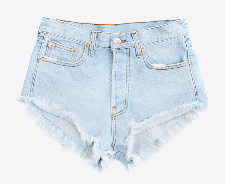 Runaway Pale Cheeky Shorts | RUNWAYDREAMZ