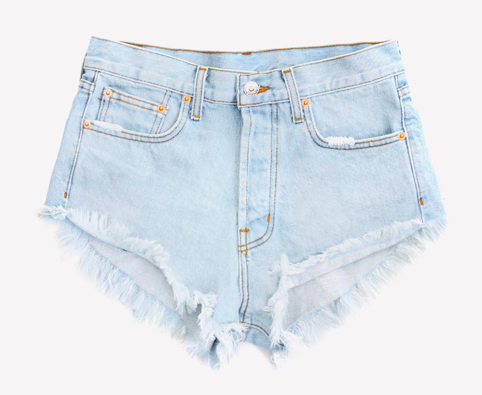 Runaway Pale Cheeky Shorts | RUNWAYDREAMZ