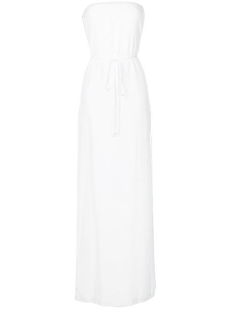dress maxi dress maxi women white silk