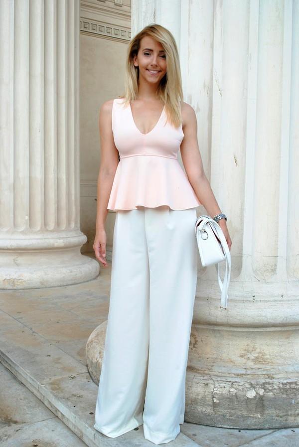 let's talk about fashion ! blouse bag shoes