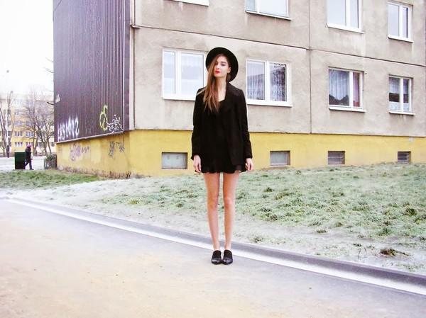 fashionectic coat dress shoes