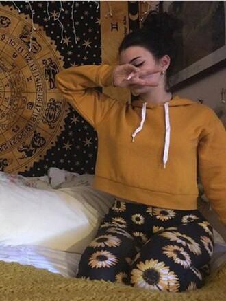 sweater hoodie yellow hoodie sweatshirt