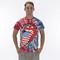 Rolling stones usa logo tie dye tour t-shirt