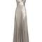 V-neck sleeveless silk-satin gown   galvan   matchesfashion.com us
