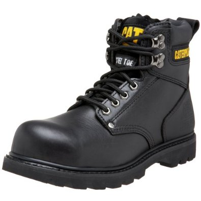 "Amazon.com: caterpillar men's 2nd shift 6"" steel toe boot: work boots: shoes"