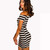Black and Whites Stripes Dress | Affordable Junior Clothing & Plus Sized Dresses | Shimmer
