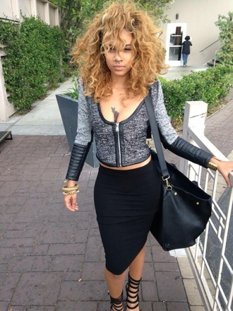 hairstyles blouse dope zipper long sleeves causal curly club monaco clubwear cute outfit