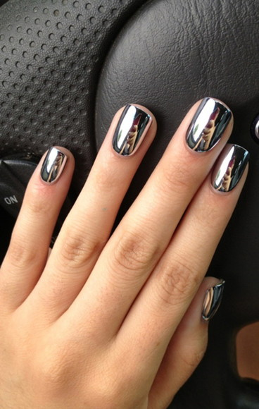 nail polish mirror love it girl sweet perfect want it!!!!
