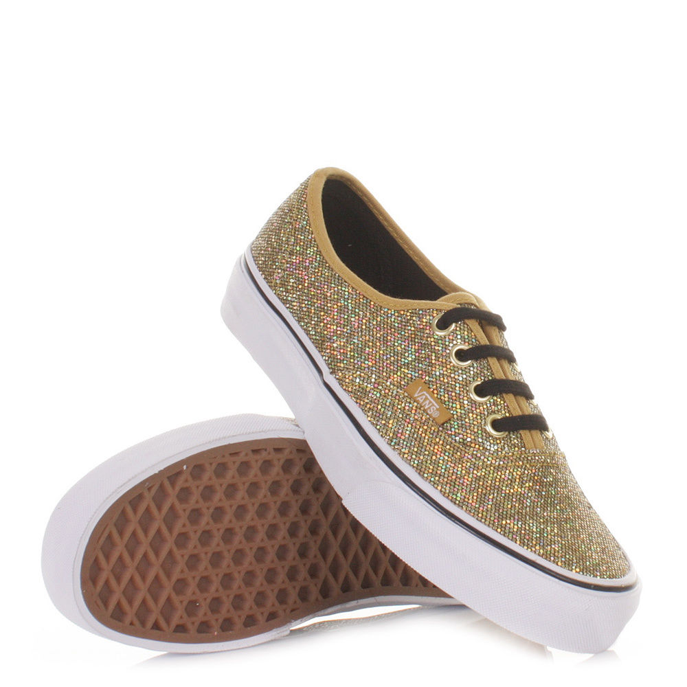 vans glitter shoes women