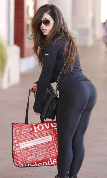 2692b01f4986c0 pants, black, yoga pants, tight, spandex, leggings, tights - Wheretoget