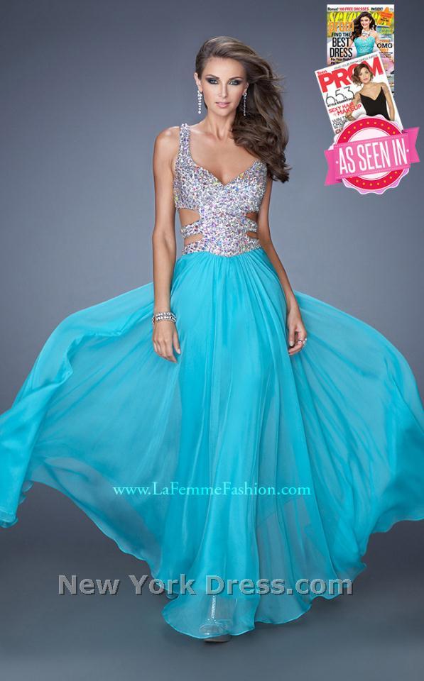 La Femme 19658 Dress - NewYorkDress.com
