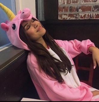 pajamas pink pink unicorn onesies zendaya