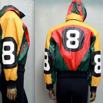 jacket colorblock multicolor