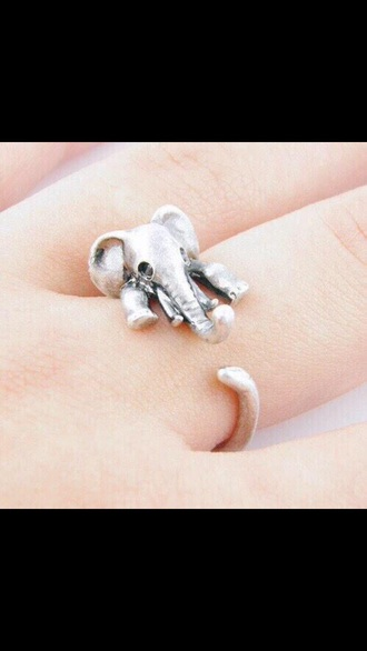 jewels cute jewelry rings and tings silver ring silver silver jewelry elephant cute jewels